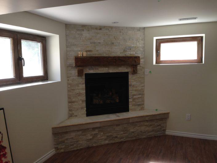 basement renovation contractor burlington