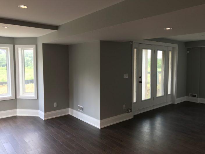 basement renovation in Georgetown